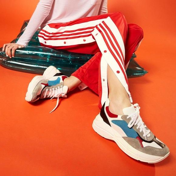 Steve Madden Blue Multi Memory Sneakers